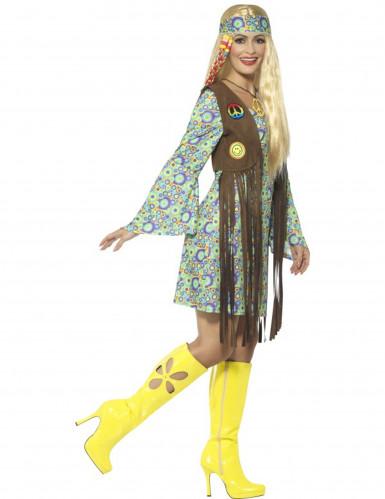 Tolles 60er-Jahre Hippie Kostüm für Frauen-1