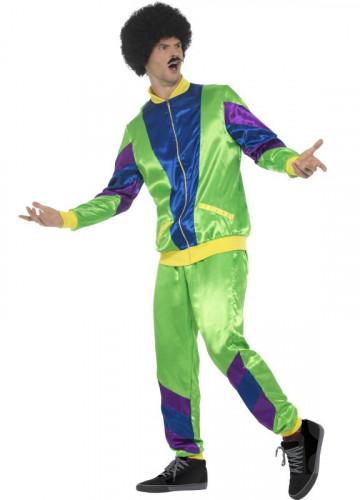 80er Jahre Jogging-Kostüm für Herren-1