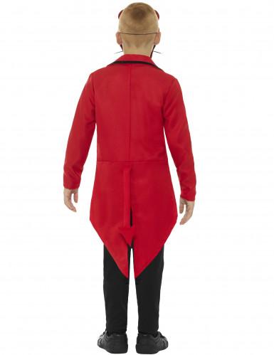 Halloween Dämon Gentleman Kostüm für Kinder-1
