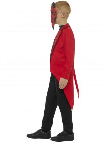 Halloween Dämon Gentleman Kostüm für Kinder-2