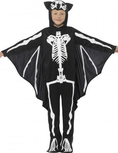 Fledermaus- Skelett Kostüm für Kinder