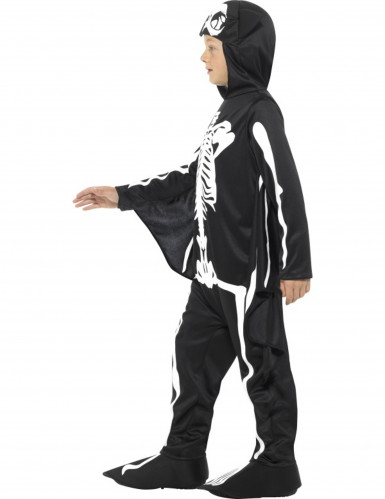 Fledermaus- Skelett Kostüm für Kinder-1