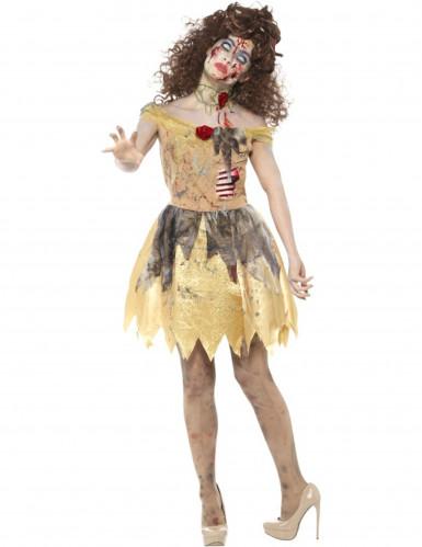 Zombie Prinzessin Kostüm für Damen