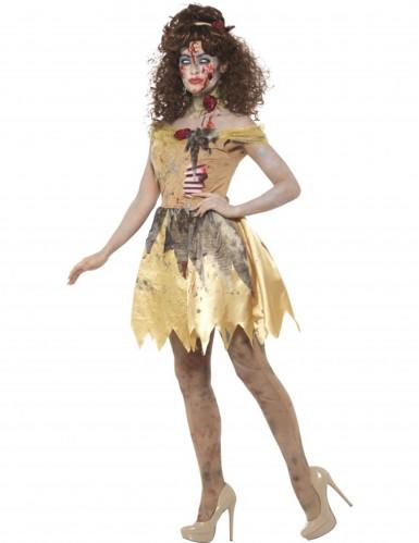 Zombie Prinzessin Kostüm für Damen-1