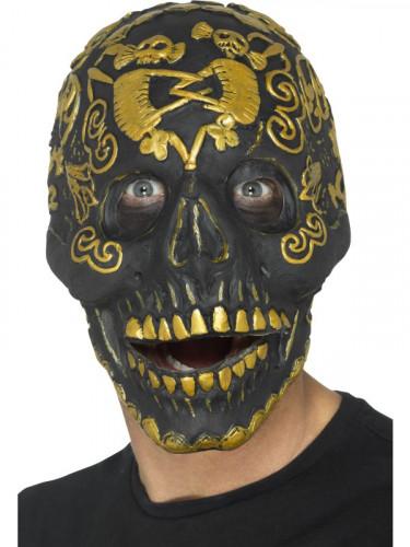 Maske Maskerade goldenen Schädel Erwachsene Halloween