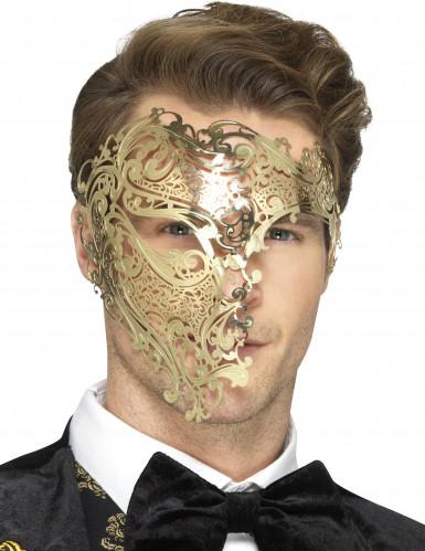 Halbmaske in Gold Erwachsene