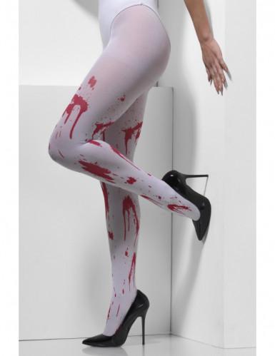 Blutbedeckte Strumpfhose