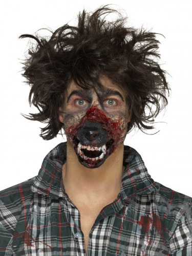 Prothese Latexschaum Mund Werwolf Erwachsene Halloween