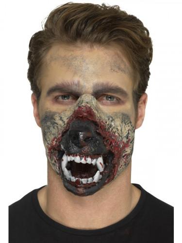 Prothese Latexschaum Mund Werwolf Erwachsene Halloween-2