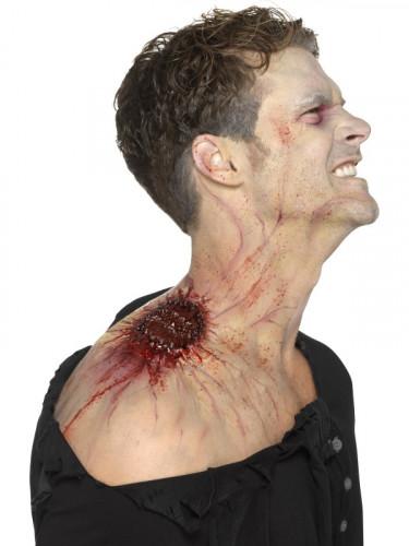 Latex Prothese infiziert Biss Erwachsene Halloween-2