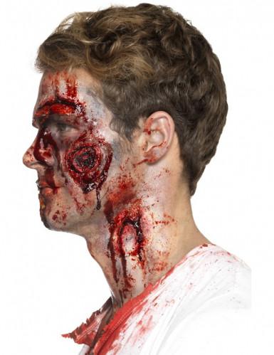 Latex Prothese blutige Wunden Erwachsene Halloween