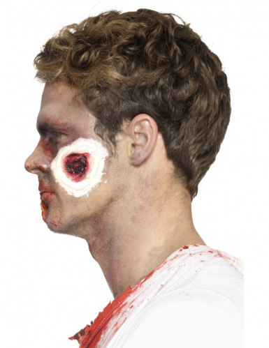 Latex Prothese blutige Wunden Erwachsene Halloween-1