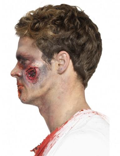 Latex Prothese blutige Wunden Erwachsene Halloween-2