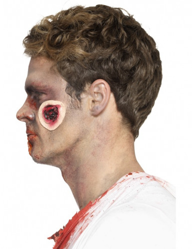 Latex Prothese blutige Wunden Erwachsene Halloween-3