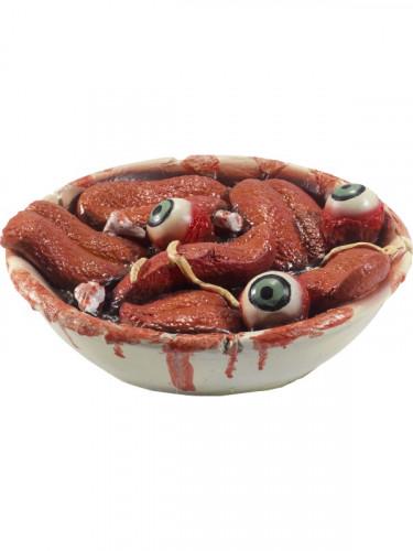 Deko Salatteller für Halloween