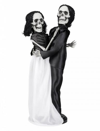 40 cm Halloween-Skelett-Paar Dekoration
