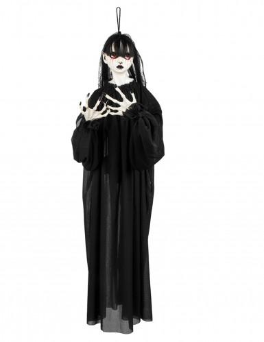 Halloween Dekoration Horror Mädchen zum Aufhängen 90 cm