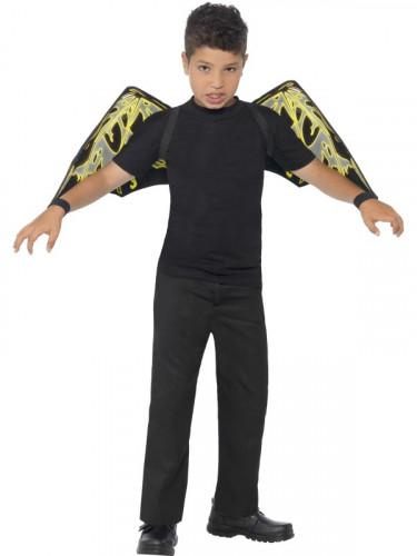 Flügel fluoreszierende Fledermäuse Kinder Halloween