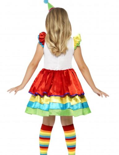 Kostüm mit buntem Rock für Mädchen-1