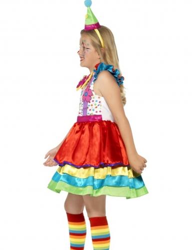 Kostüm mit buntem Rock für Mädchen-2