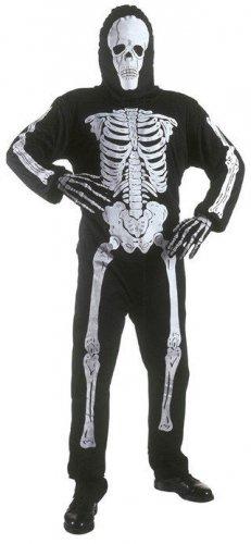 Verkleidung Skelett für Kinder