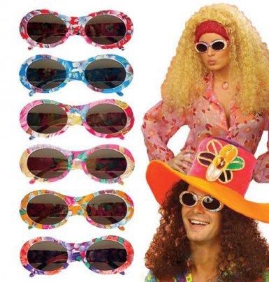 Brille Hippie für Erwachsene