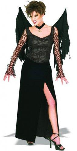 Gothic Engel Kostüm für Damen Halloween