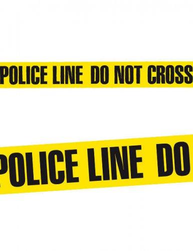 Polizeiabsperrband für Halloween ( 20m x 7,5cm)