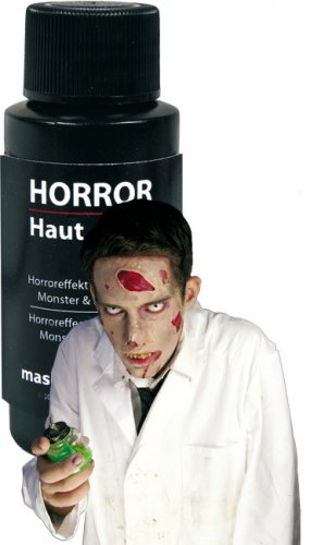 Zombie Make-up weiße Haut 20ml Halloween