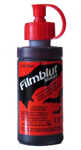 Flasche Kunstblut dunkelrot 50 ml
