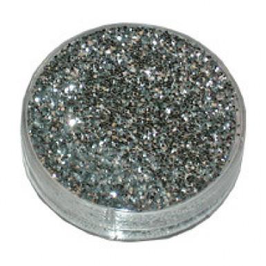 Pulver Silber Glitter 2g