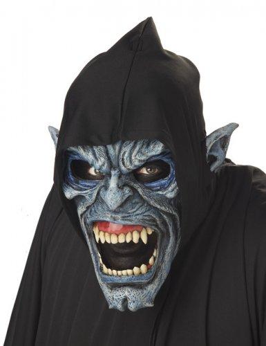 Ani-Motion™ Maske eines Unterweltmenschen grau