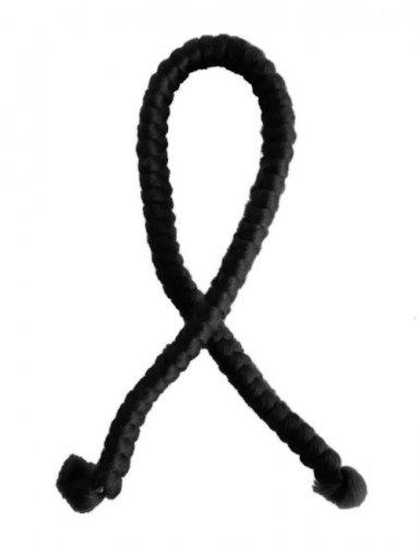 Künstliches schwarzes Wollhaar