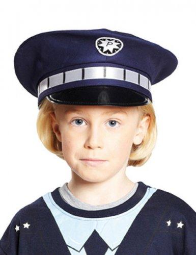 Blauer Polizeihut Kind