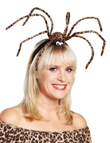 Stirnreif mit Spinne für Halloween
