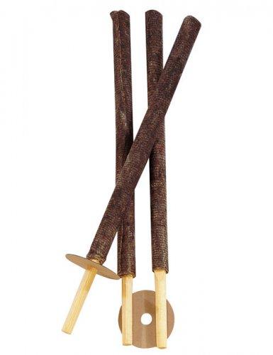 Dekoration 3 Deko-Fackeln für den Garten 56cm