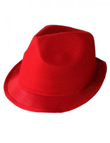 Roter Borsalino Hut Trilby für Erwachsene