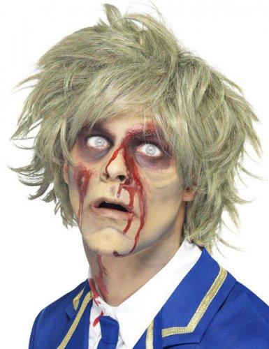 wie man serch Genieße den reduzierten Preis Temperament Schuhe Zombie Perücke kurz blond Herren Halloween