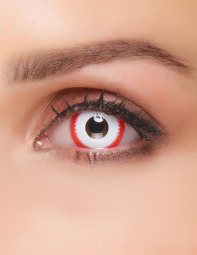 Kontaktlinsen Serienkiller Fantasie Erwachsene Halloween