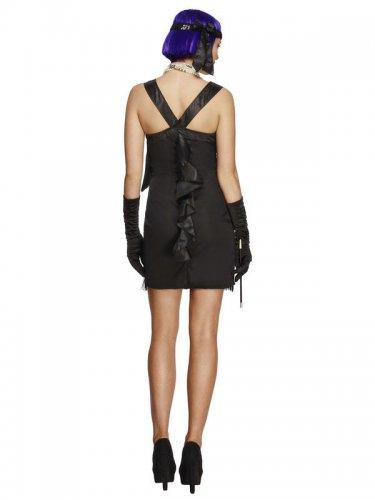 Charleston Kostüm mit schwarzer Schleife für Damen-1