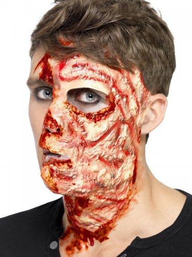 Latex Brandnarbe Halloween