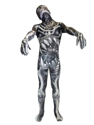 Kostüm Morphsuits™Skelett für Kinder