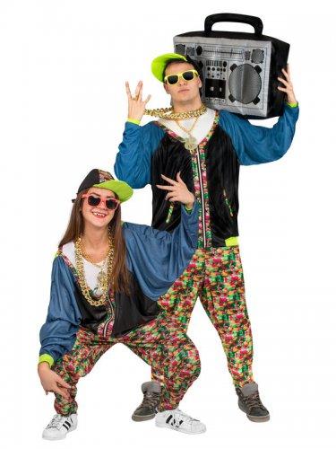 Hip-Hop Kostüm 80er Jahre Erwachsene-1