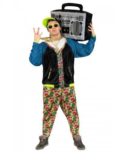 Hip-Hop Kostüm 80er Jahre Erwachsene-2