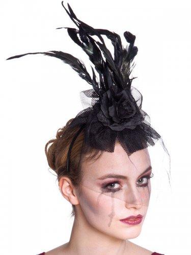 Gothic Haarreif mit Spitze