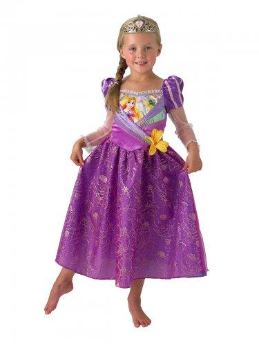 Rapunzel™-Disney Lizenzkostüm für Mädchen lila-rosa