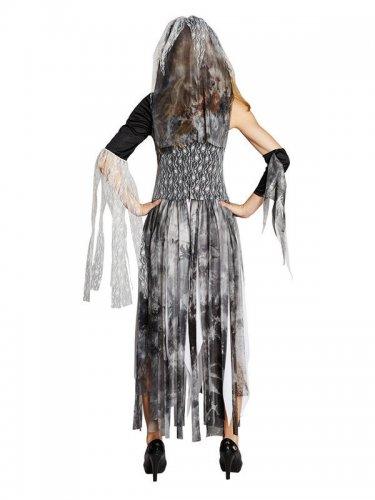 Kostüm schaurige Braut für Damen-1