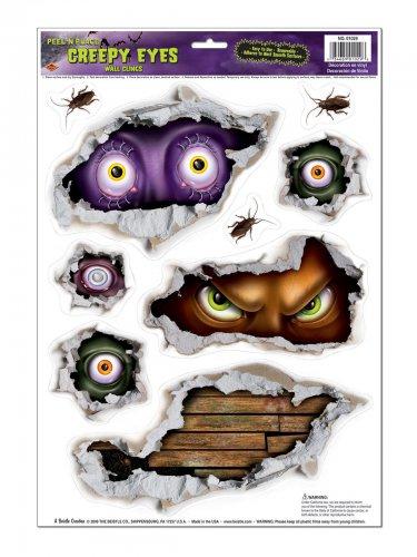 9 dämonische Sticker für Halloween