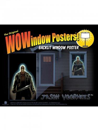 Fensterbild Jason Voorhees Freitag der 13.™