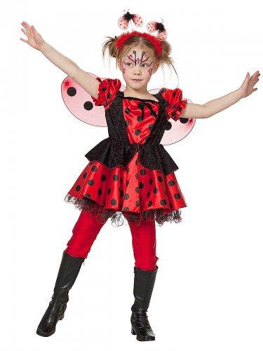 Marienkäfer Kostüm - Glücksbringer für Kinder